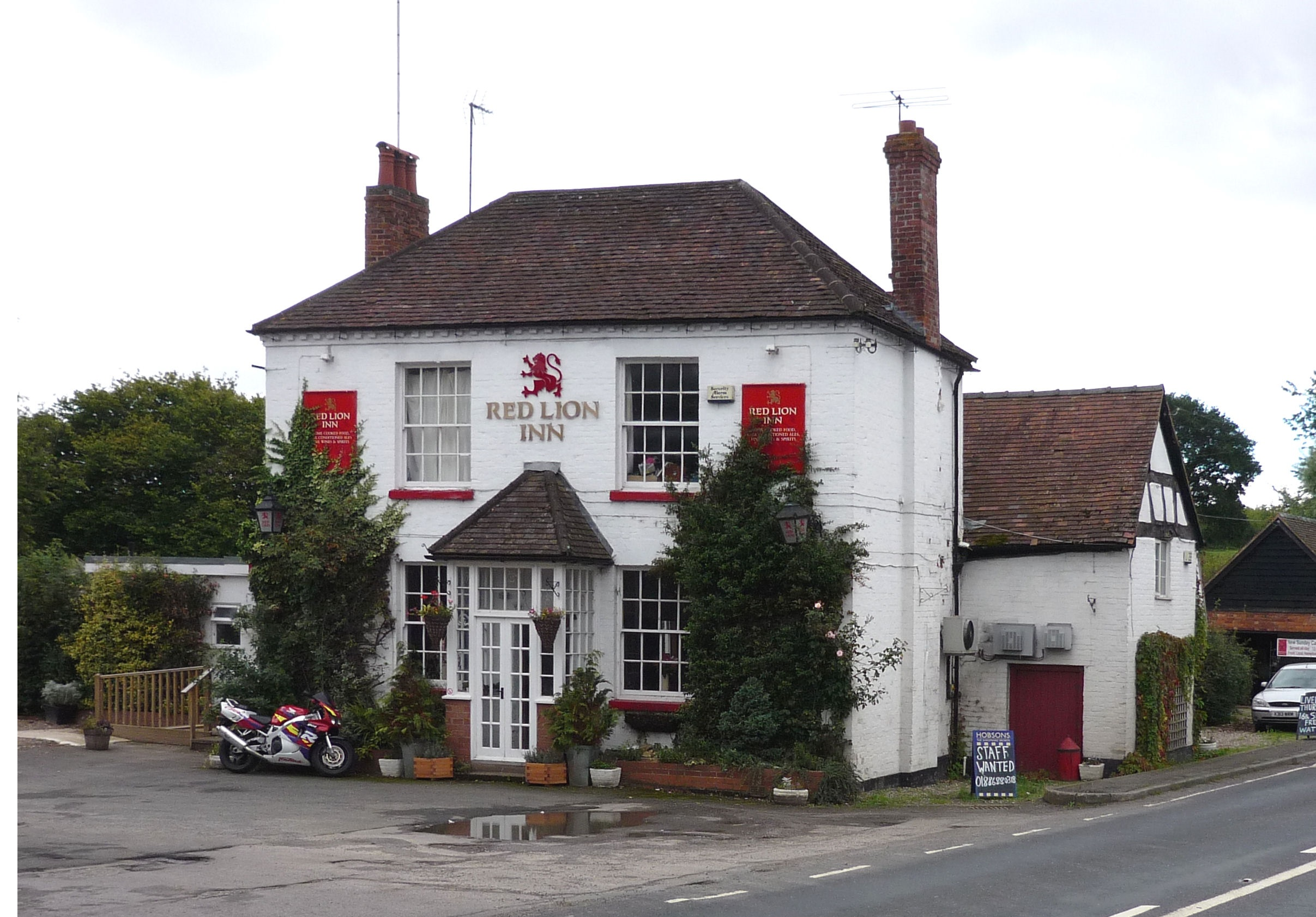 Red lion, Stiffords Bridge